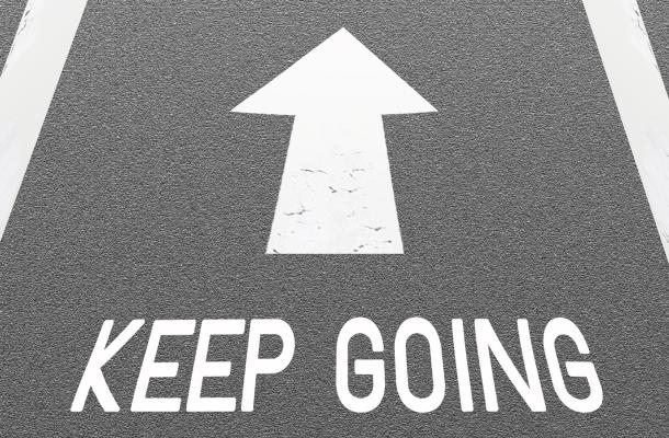 「続ける」のイメージ