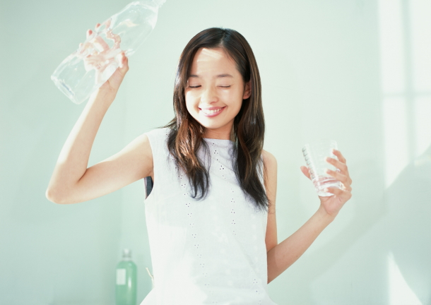 水分摂取のイメージ